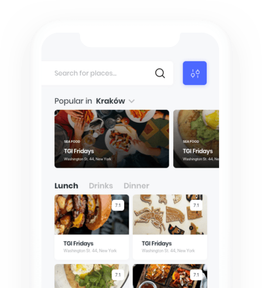 Foodetective mobile app